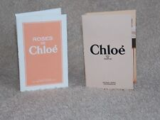 Chloe Eau De Parfum OR Eau De Toilette CHOOSE YOUR SCENT Sample Vial .04 oz New