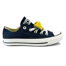 Womens Converse Chuck Taylor Double Tongue Lo Athletic Navy Trainers