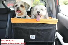 Large Dog Car Seat - helps calm down anxious dogs and prevent car sickness
