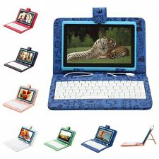 "iRULU 7"" 8GB/16GB Tablet Android 4.4 Quad Core Pad Dual Cameras WIFI w/ Keyboard"