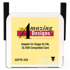 Amazing Designs Rewritable Card and adapter Singer XL100, XL1000 (XXX)