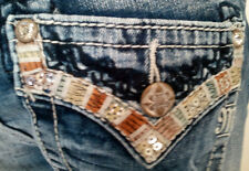 NEW WITH TAG MISS ME JEANS BOOT CUT MID RISE MP7291B