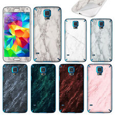 For Samsung Galaxy S5 i9600 G900 Marble Design Decal Vinyl Skin Cover Sticker
