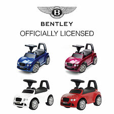 toddlers bentley gt ride on toy baby walker push along car for kids children uk