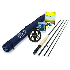 NEW - Echo Base 376-4 Fly Rod Outfit - FREE SHIPPING!