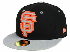 Official MLB San Francisco Giants Full Heather XL Logo New Era 59FIFTY Hat