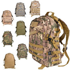 45L Big 3D Outdoor Molle Military Tactical Rucksack Backpack Camping Hiking Bag