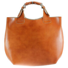 WOMAN Large Tote Bag Made in Italian Genuine Leather - 9007