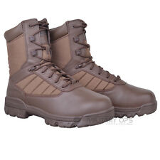 BRITISH ARMY ISSUE BATES TACTICAL BOOTS SPORTS 8 INCH BROWN COMBAT MILITARY G1