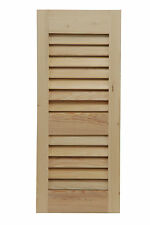 Shutters By Design Western Cedar Louvered Shutter Set of 2