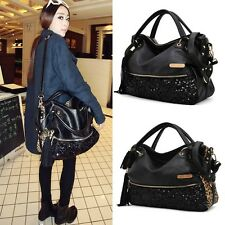 Women Satchel Bag Tote Messenger Faux leather shoulder Bag handbag Ladies purse