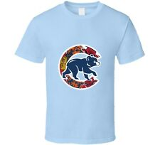Chicago Cubs T Shirt Unisex Chicago Teams Bulls Bears Blackhawks Gift Tee Top