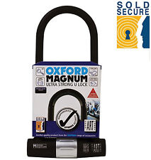 OXFORD MAGNUM ULTRA STRONG D LOCK FOR MOTORCYCLE SOLD SECURE D LOCK (OF173)