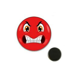 Magnet Smil colère rouge