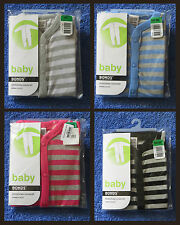 BONDS Baby Stretchies Coverall Blue/White/Pink/Black Sizes 000-2 BNWTs