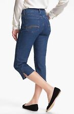 NEW NYDJ Not Your Daughters Jeans CROP capri Nanette Monrovia medium wash sz 4
