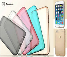 Baseus Ultra-thin Soft TPU Clear Back Case Cover Skin For Apple iPhone 6 6s Plus