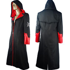 DMC 5 Devil May Cry Dante Trench Coat Jacket Outfit Halloween Cosplay Costume