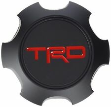 NEW Toyota TRD BLACK Wheel Center Cap PTR20-35111-BK TACOMA FJ 4RUNNER GENUINE