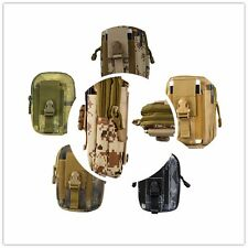Tactical Molle Pouch Belt Waist Packs Bag Pocket Military Waist Fanny Pack New