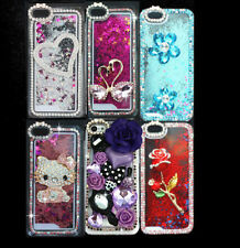 Dynamic Bling Diamond Liquid Star Quicksand Glitter Case Cover For CellPhone
