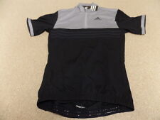 Adidas Men's Short Sleeve Response Jersey, Cycling Jersey, Black/Grey, XXL 2015