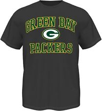 Green Bay Packers Majestic NFL Heart & Soul III Charcoal Men's T-Shirt