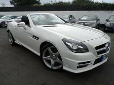 2013 MERCEDES SLK SLK250 CDI BLUEEFFICIENCY AMG SPORT 2.1 DIESEL AUTOMATIC CONVE