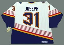 CURTIS JOSEPH St. Louis Blues 1994 CCM Vintage Throwback Home NHL Hockey Jersey