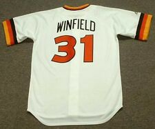 DAVE WINFIELD San Diego Padres 1980 Majestic Cooperstown Home Baseball Jersey