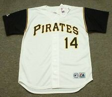 GENE ALLEY Pittsburgh Pirates 1966 Majestic Throwback Home Baseball Jersey