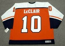 JOHN LeCLAIR Philadelphia Flyers 1997 CCM Throwback Away NHL Hockey Jersey