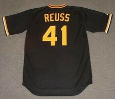JERRY REUSS Pittsburgh Pirates 1978 Majestic Cooperstown Baseball Jersey