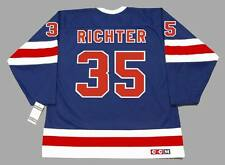 MIKE RICHTER New York Rangers 1991 CCM Vintage NHL Hockey Jersey
