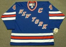 RON GRESCHNER New York Rangers 1986 CCM Vintage Away NHL Hockey Jersey