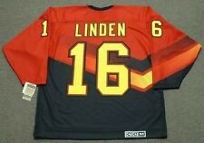 TREVOR LINDEN Vancouver Canucks 1995 CCM Vintage Throwback NHL Hockey Jersey