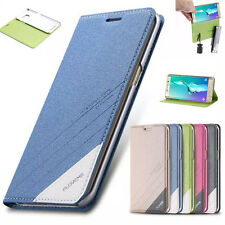Flip Magnetic PU Leather Stand Card Slot Holder Case Cover For iPhone&Samsung