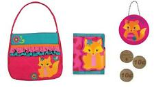 Stephen Joseph Girls Quilted 1st First Pocketbook Wallet Coin Purse 4 Pc Set New