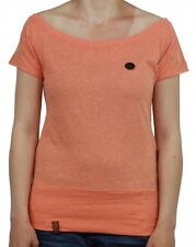 Naketano Ladies T-Shirt Wool VII Orange Melange