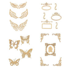 Butterfly Unfinished Wood Shape Craft Supplies Laser Cut Out DIY Arts Home Decor