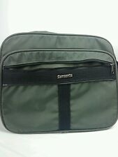 Samsonite Travel Carry On Business  Bag Canvas Lightweight Expandable Green