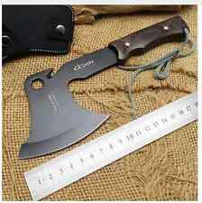 Carbon Steel Throwing Axe Tomahawk Blackhawk Hatchet Survival MultiFunction Tool