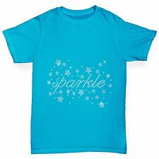 Twisted Envy Girl's Sparkles Rhinestone Diamante T-Shirt