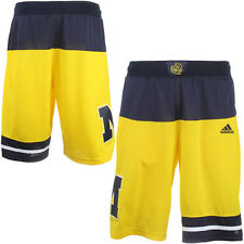 Michigan Wolverines adidas 2015 March Madness Replica Basketball Shorts - NCAA
