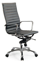 Creative Images International Mid-Back Leatherette Office Chair
