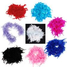 Feather Stripe Fluffy Party Costume Fancy Dress Up Craft Party Wedding Decor
