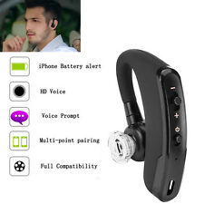 Noise Cancelling Wireless Stereo Bluetooth Headset Headphone For Samsung iPhone