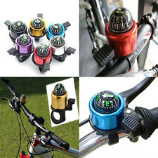 1x Bike Road Bicycle Cycling Handlebar Bell Ring Horn With The Compass