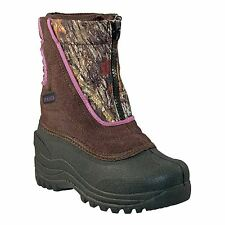 Itasca SNOW STOMPER Toddler Girls Mossy Oak Zip Up Warm Winter Insulated Boots