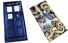 Doctor Who TARDIS Door Beach Bath Towel Exploding Van Gogh David Tennant Smith